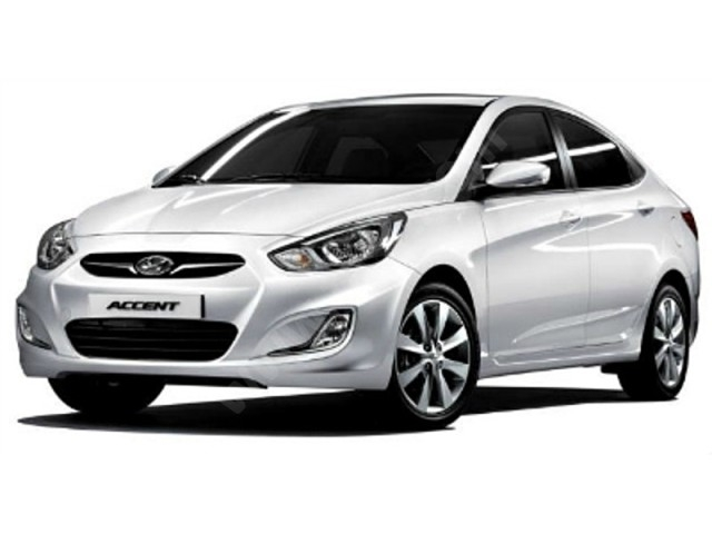 Antalya Rental HYUNDA ACCENT BLUE MANUEL  HYUNDA ACCENT BLUE